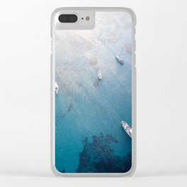 Aegean Sea, Greece Clear iPhone Case
