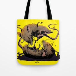 rat fight Tote Bag
