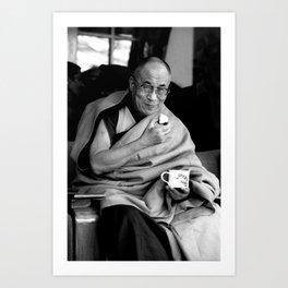 Dalai Lama II Art Print