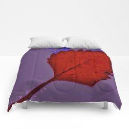 BE LIKE A LEAF #6 Comforters