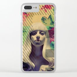 Greetings from Nowhere Clear iPhone Case