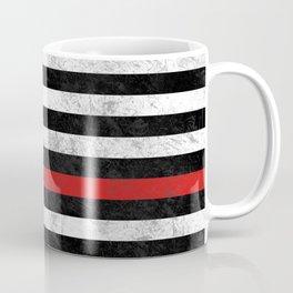 Thin Red Line Flag Coffee Mug
