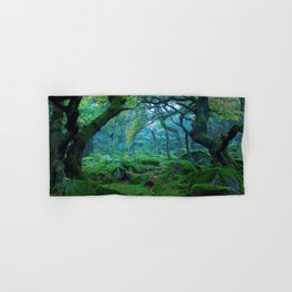 Enchanted forest mood Hand & Bath Towel