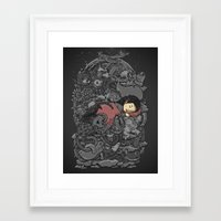 dreams Framed Art Prints featuring Dreams by Alex Solis