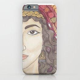 Abigail iPhone Case