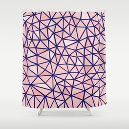 Broken Blush Shower Curtain