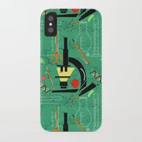 biology iPhone & iPod Cases featuring BIOLOGY by cecimonster