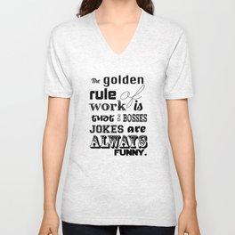 Golden Rules Unisex V-Neck