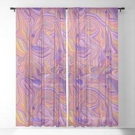 a horse Sheer Curtain