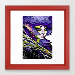 Flourite Framed Art Print