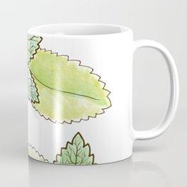 tea botanicals | Peppermint // Moroccan mint tea Coffee Mug