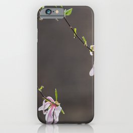 Time to Shine - Magnolia Flowers iPhone Case
