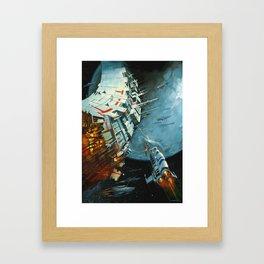 The Battle for Proxima Centauri Framed Art Print