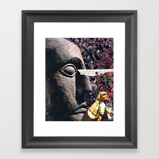 Seeking Framed Art Print
