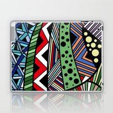 IT'S RAINING COLORS! (abstract geometric) Laptop & iPad Skin