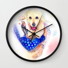 IMA Wall Clock