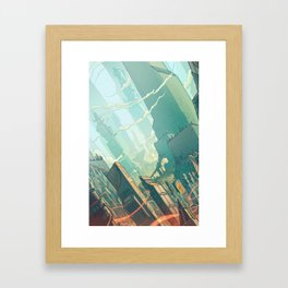 leveL - The Sprawl Framed Art Print