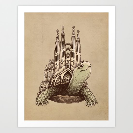 Slow Architecture Art Print