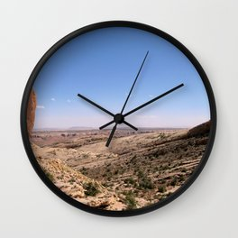 Comb Ridge Wall Clock