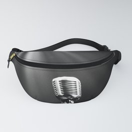 Classic Microphone Fanny Pack