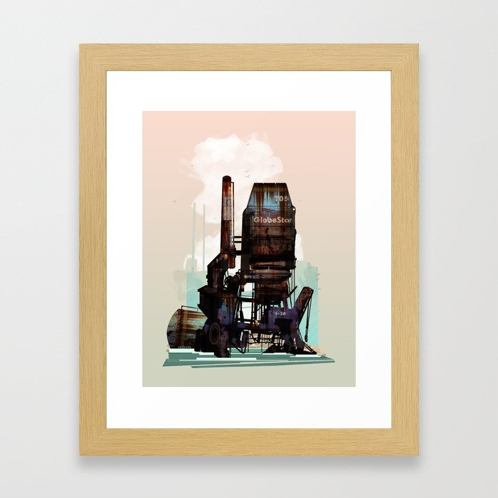 Sea Stacks Framed Art Print
