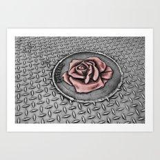 The rose beneith my feet Art Print