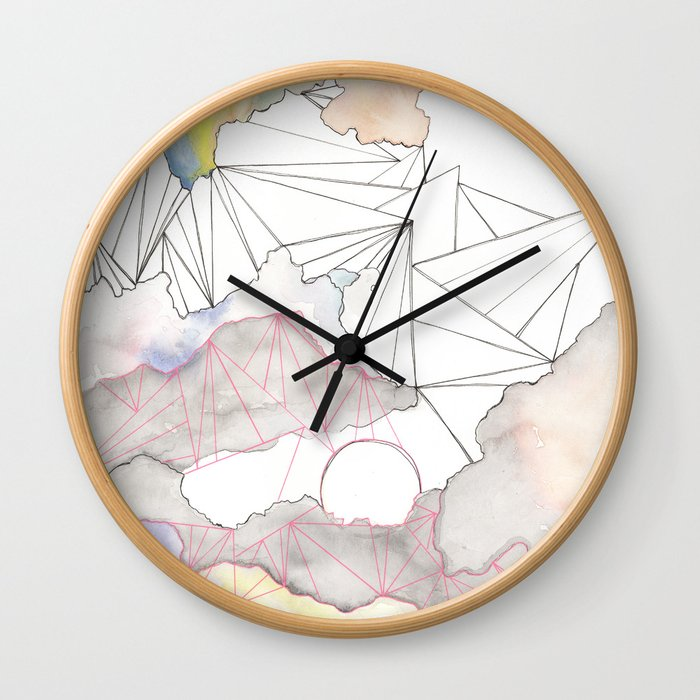 Celestial Connections Wall Clock