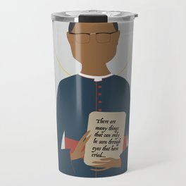 Oscar Romero of El Salvador Travel Mug