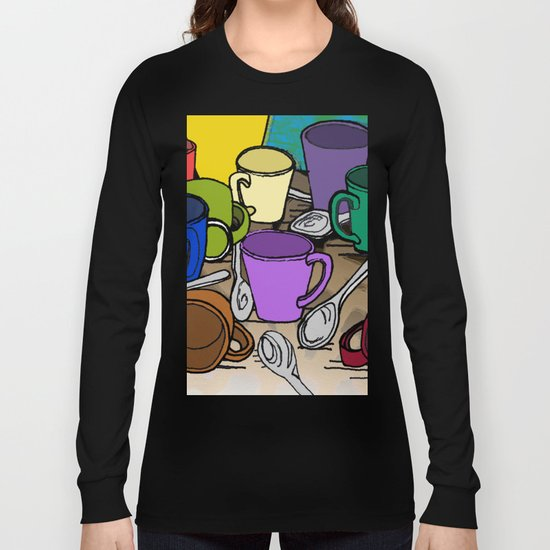 Cups and Spoons Long Sleeve T-shirt
