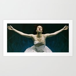 abyss of the disheartened : I Art Print