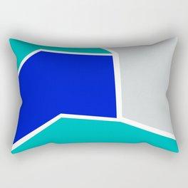 Modern Cubist 02 Rectangular Pillow