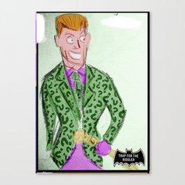 Frank Gorshin, the Riddler Canvas Print
