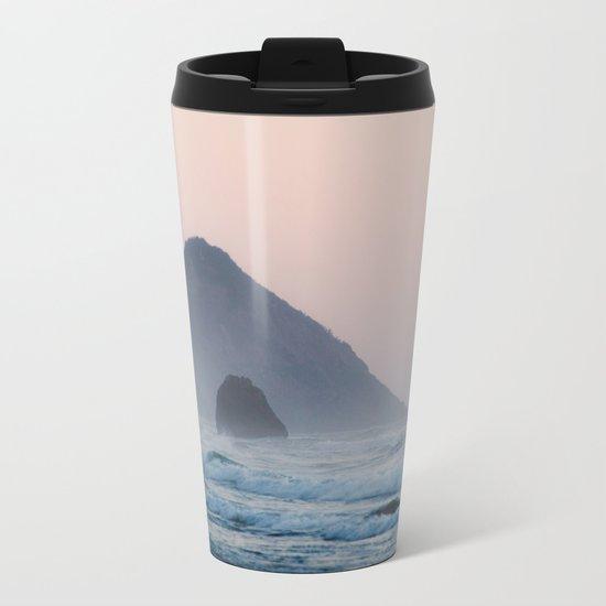 Pacific Coast Paradise Metal Travel Mug