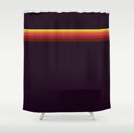 Sun Stripes Shower Curtain