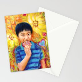 The Donut King Stationery Cards