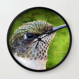 Little Hummer Wall Clock