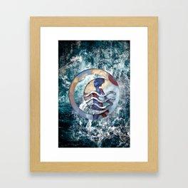 Kiora the waterbender Framed Art Print