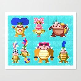 Koopalings! Canvas Print