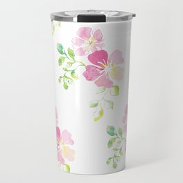 aquarel flowers Travel Mug