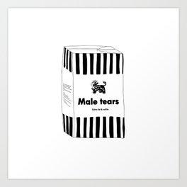 MALE TEARS MILK Art Print