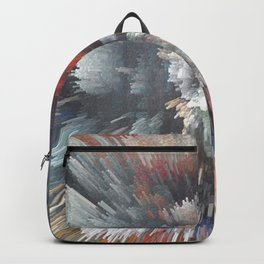 Abstract night Backpack
