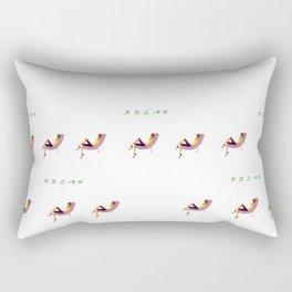 Remember to RELAX Rectangular Pillow