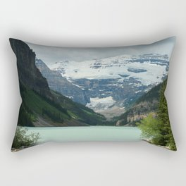 Peaceful Lake Louise Rectangular Pillow