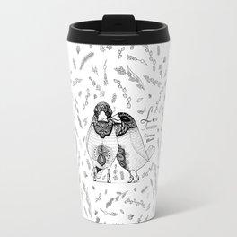 Love Forever - Chestnut munia Travel Mug