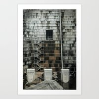 industrial Art Prints featuring Industrial  by Novella Photography