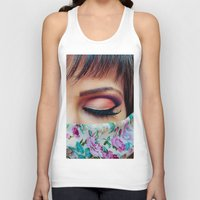 make up Tank Tops featuring Make Up by Eduard Leasa Photography