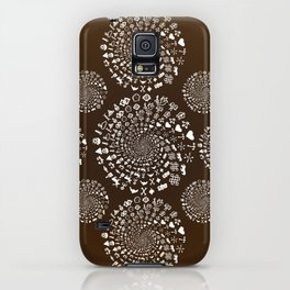 Coffee Lovers Mandala iPhone Case