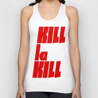 kill la kill Tank Tops featuring Kill La Kill by Subtle Tee