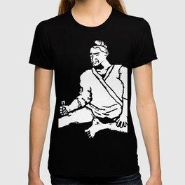 Drinkin' Sittin' Thinker T-shirt