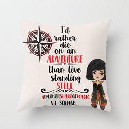 On an Adventure Throw Pillow
